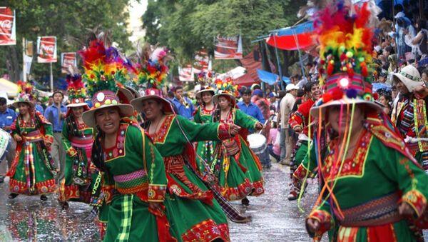 Carnaval de Oruro, Bolivia - Sputnik Mundo