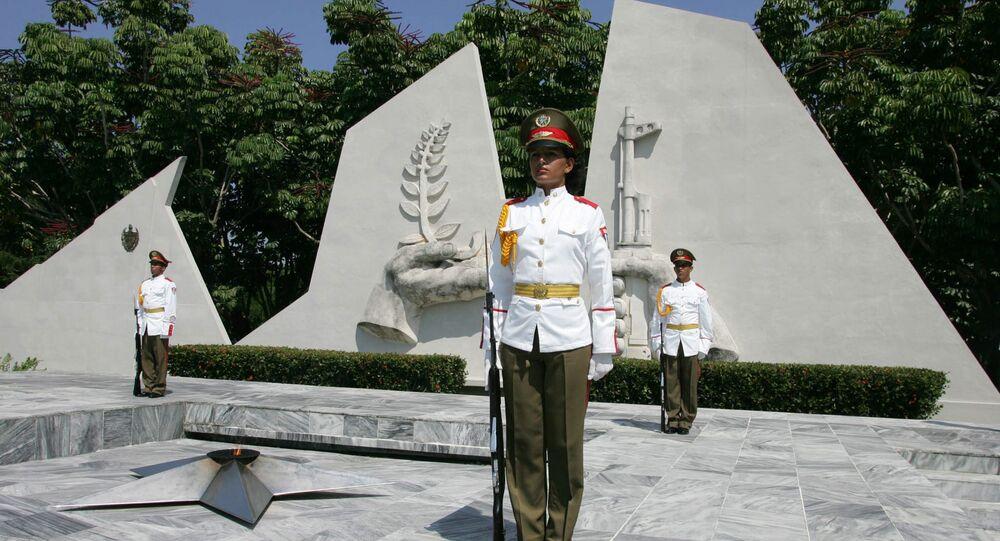 Mausoleo al Soldado Internacionalista Soviético en Cuba