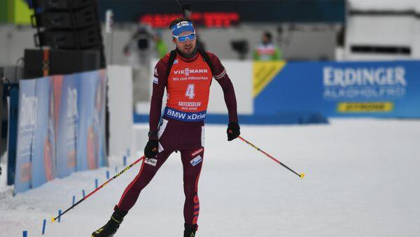 Campeón olímpico ruso en biatlón Antón Shipulin - Sputnik Mundo