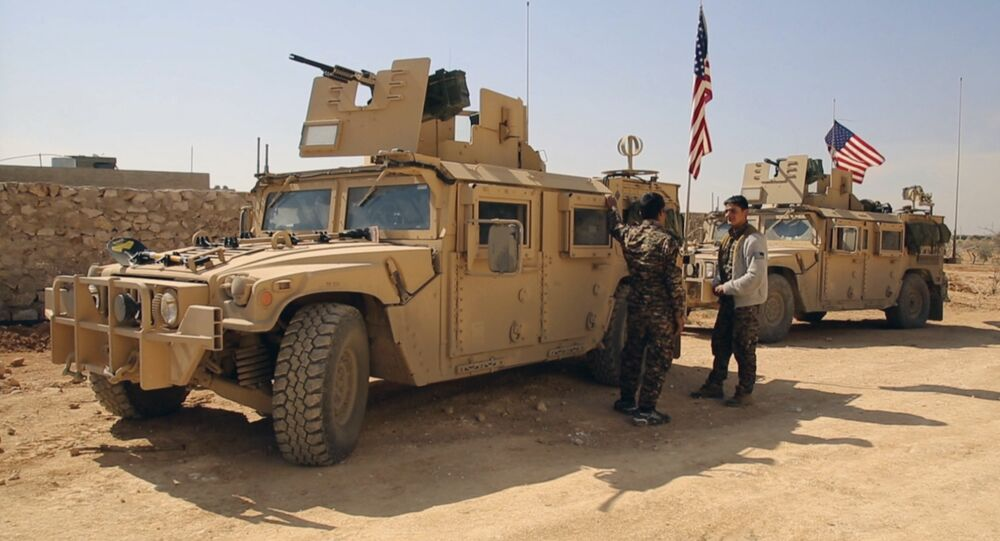 Fuerzas de EEUU en Siria