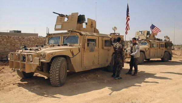Fuerzas de EEUU en Siria - Sputnik Mundo