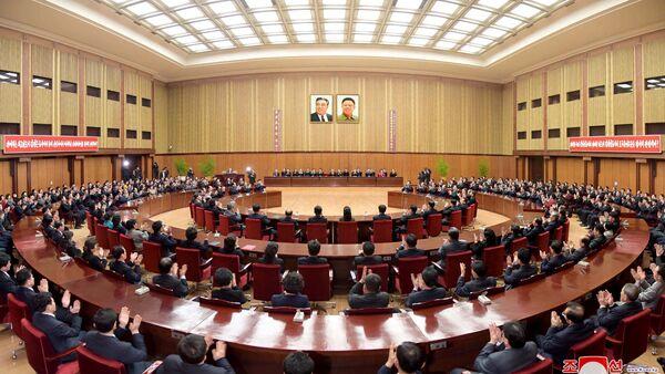 Conferencia del Gobierno de Corea del Norte, partidos políticos y organizaciones norcoreanos - Sputnik Mundo