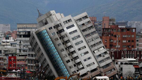 Consecuencias del terremoto en Taiwán - Sputnik Mundo