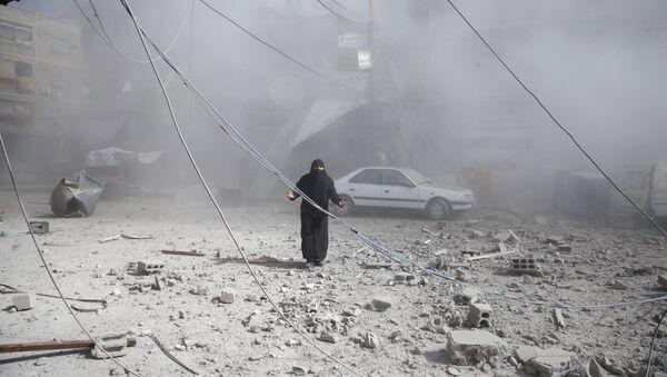 La situación en Siria tras el ataque de la coalición de EEUU - Sputnik Mundo