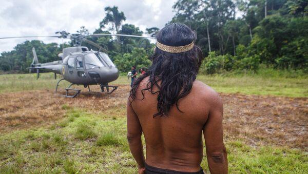 Indígenas de Amazonia - Sputnik Mundo