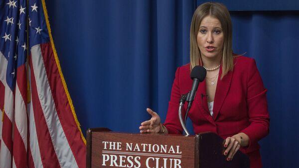 Ksenia Sobchak en Washington - Sputnik Mundo
