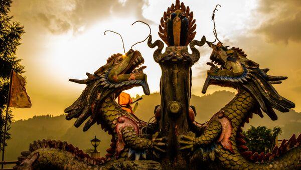 Dragones chinos, imagen referencial - Sputnik Mundo