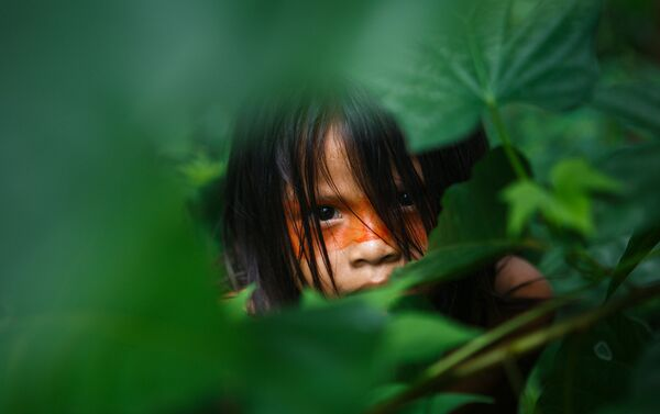 Niño indígena - Sputnik Mundo