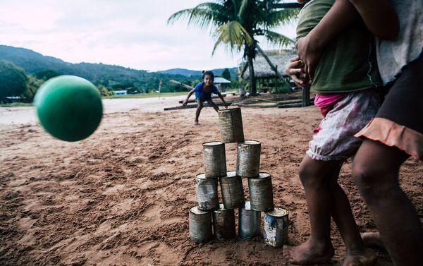 Niños indígenas - Sputnik Mundo
