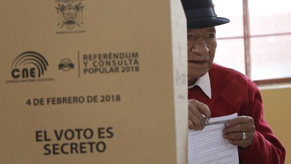 Consulta popular en Ecuador (archivo) - Sputnik Mundo