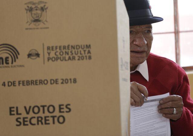 Consulta popular en Ecuador