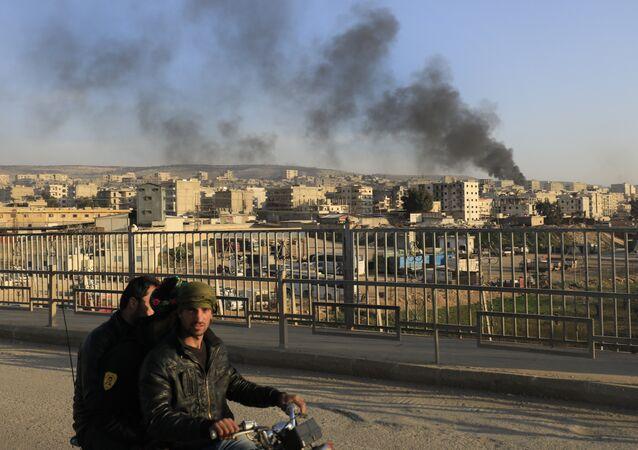 Situación en Afrín, Siria (archivo)
