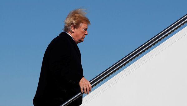 Trump viaja a Ohio en su avión Air Force One - Sputnik Mundo