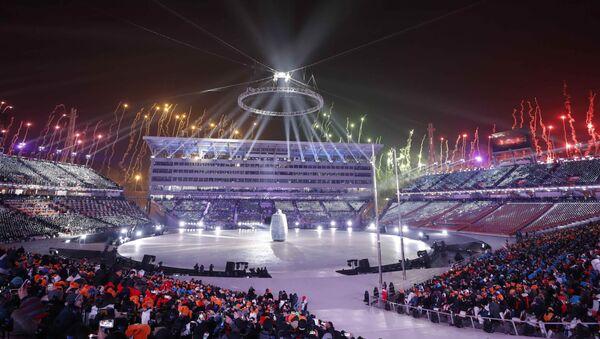 La ceremonia de inauguración de los Juegos de Invierno - Sputnik Mundo