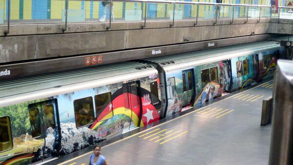 Metro en Caracas (imagen referencial) - Sputnik Mundo