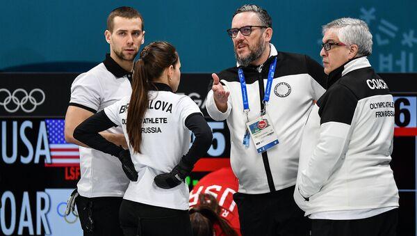 Los deportistas rusos en los JJOO-2018 en Pyeongchang - Sputnik Mundo