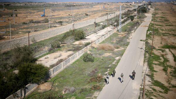 La frontera entre Egipto y la Franja de Gaza - Sputnik Mundo