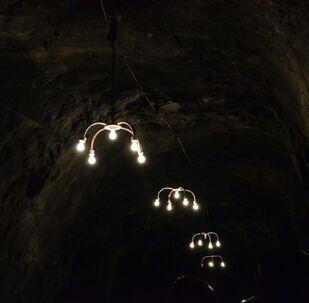 Un mina en Colombia