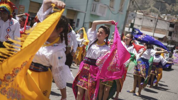 Carnaval en Guaranda, Ecuador - Sputnik Mundo
