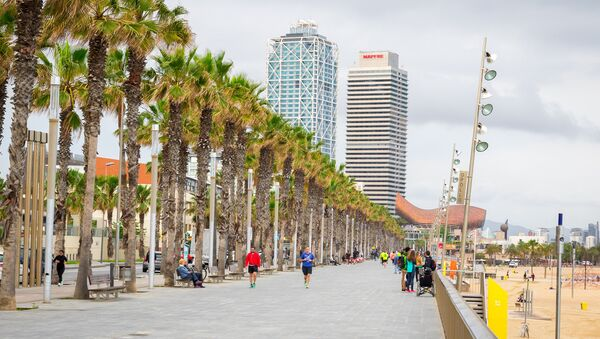 Barcelona, la capital de Cataluña - Sputnik Mundo