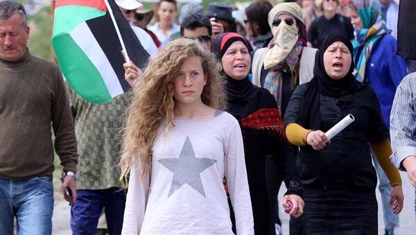 Ahed Tamimi, la activista palestina - Sputnik Mundo