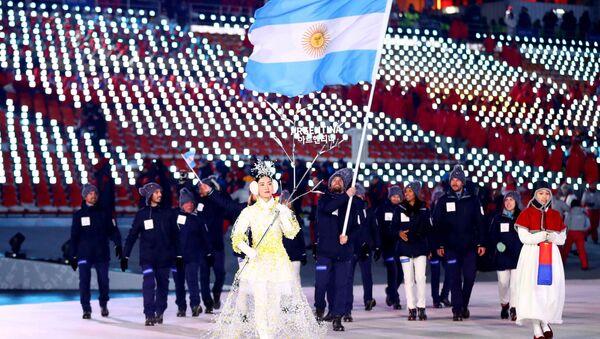 La selección de Argentina en los JJOO de Pyeongchang - Sputnik Mundo