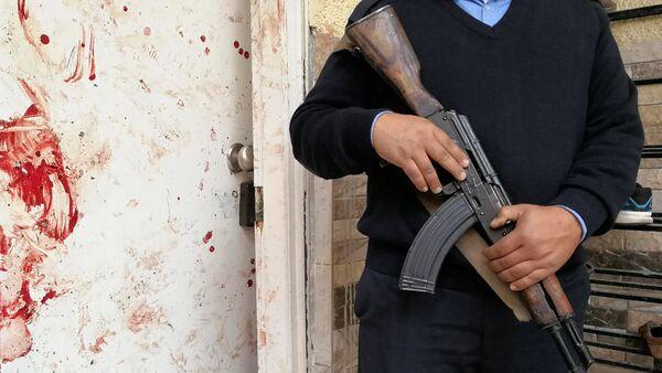 Explosión en una mezquita en la ciudad de Bengasi, Libia - Sputnik Mundo