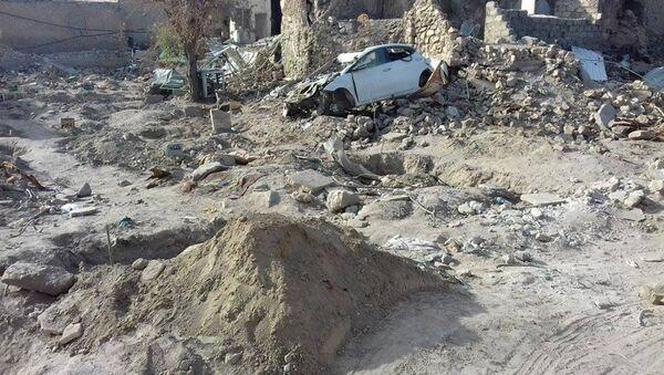 Cementerio profanado en Mosul - Sputnik Mundo