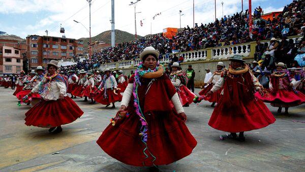 Carnaval en Oruro, Bolivia - Sputnik Mundo
