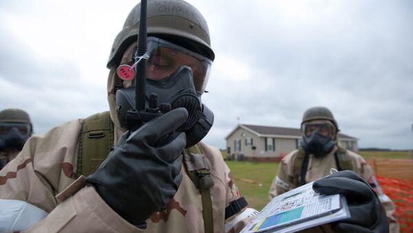 Un experto en armas químicas (imagen referencial) - Sputnik Mundo