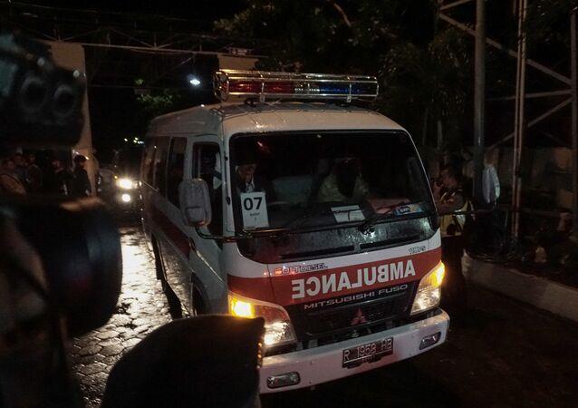 Ambulancia en Indonesia