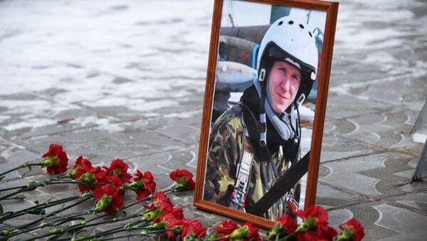 Román Filípov, piloto ruso fallecido en Siria - Sputnik Mundo