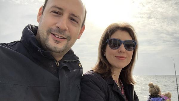 Pablo Rincón y su esposa Alina - Sputnik Mundo
