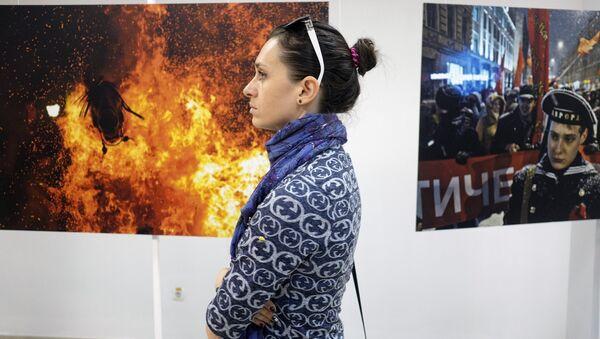 Exposición con las fotografías ganadoras del Concurso Internacional Andréi Stenin en Krasnodar - Sputnik Mundo