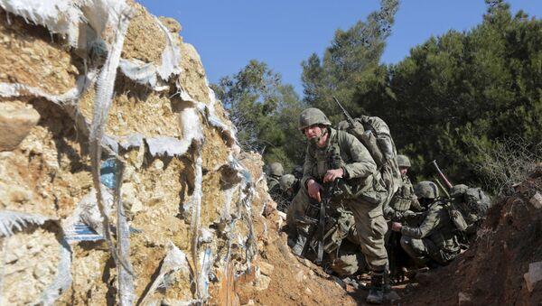 Militares turcos en Afrín, Siria - Sputnik Mundo