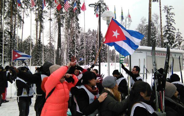 Equipo cubano de esquí - Sputnik Mundo
