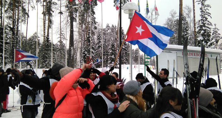 Equipo cubano de esquí