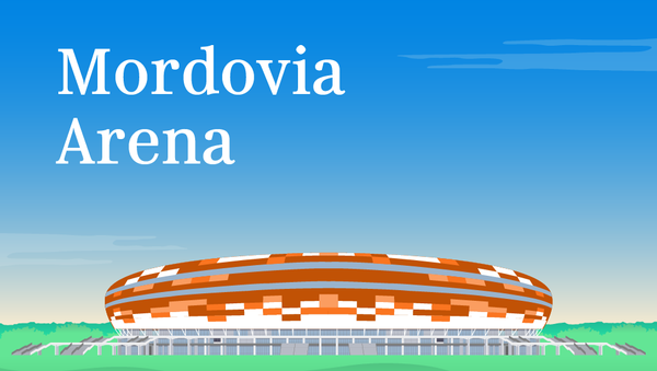 Mordovia Arena - Sputnik Mundo