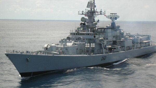 El destructor INS Mumbai - Sputnik Mundo