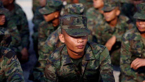 Maniobras internacionales Cobra Gold, Tailandia - Sputnik Mundo