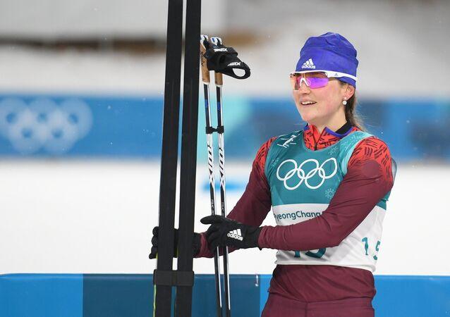 Yulia Belorúkova, esquiadora de fondo rusa
