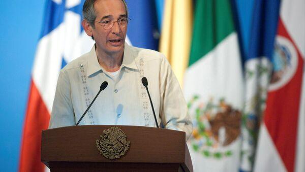 Álvaro Colom, expresidente de Guatemala (archivo) - Sputnik Mundo