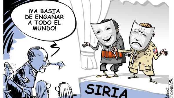 Es hora de quitarse las máscaras: Erdogan pone a EEUU entre la espada y la pared - Sputnik Mundo