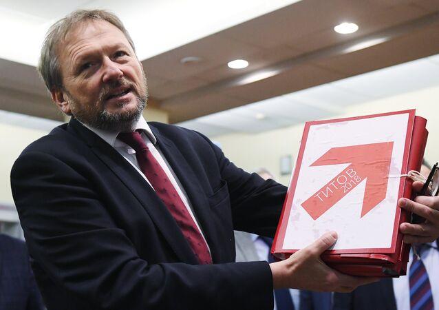 Borís Titov, candidato a la presidencia de Rusia