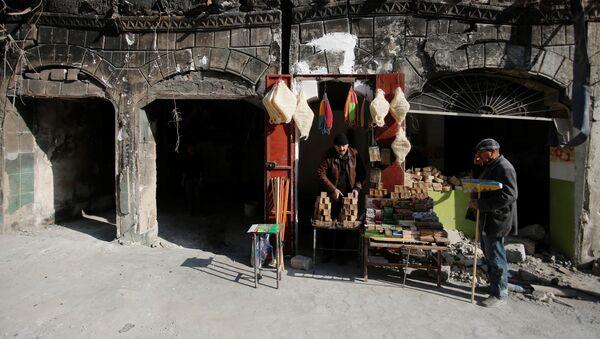 Vendedores de jabón en Irak (imagen referencial) - Sputnik Mundo