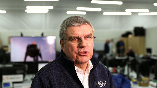 Thomas Bach, el presidente del Comité Olímpico Internacional - Sputnik Mundo