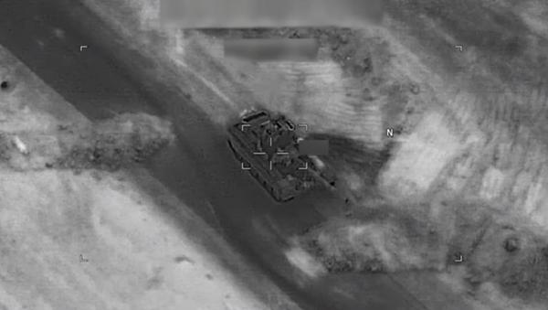 El vídeo del ataque contra las fuerzas progubernamentales sirias - Sputnik Mundo