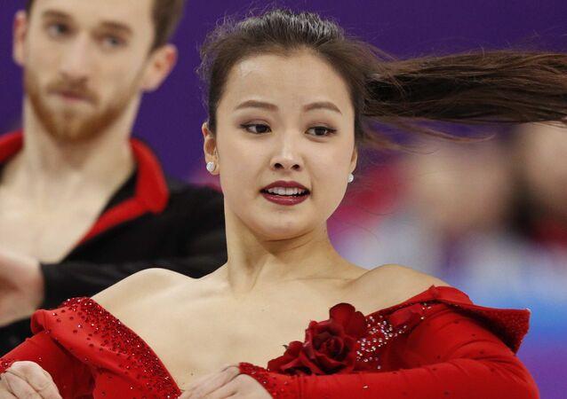 Yura Min, patinadora surcoreana