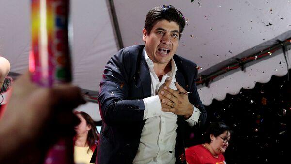 Carlos Alvarado, candidato a la presidencia de Costa Rica - Sputnik Mundo