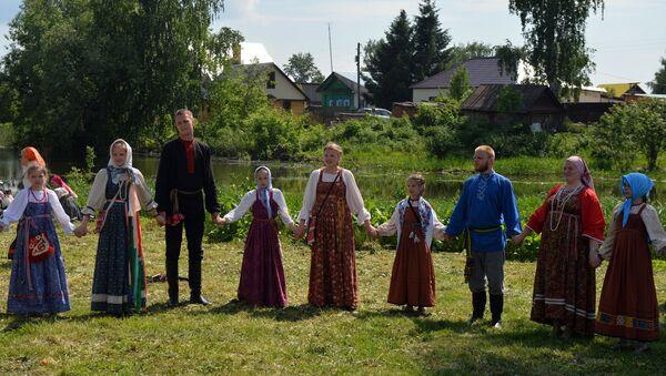 El pueblo de Russkoie (Ruso), en Rusia - Sputnik Mundo